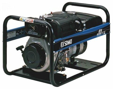 Кожух для дизельного генератора SDMO DX6000ТE XL C Auto (5100 Вт)