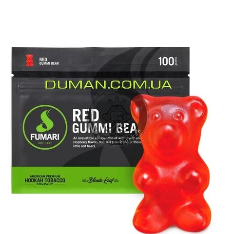Табак Fumari Red Gummi Bear (Фумари Красные Мишки Гамми)