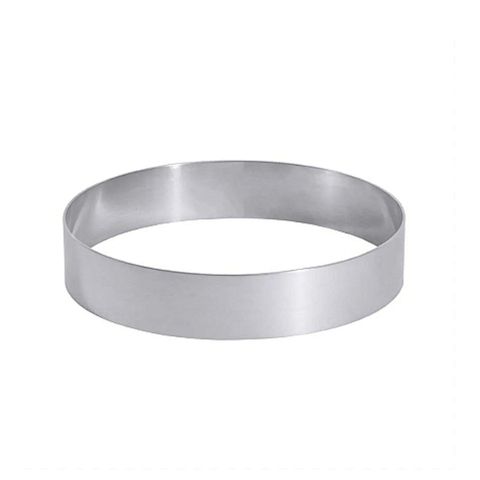 Кольцо для выпечки и выкладки  h5см d16см.(нержавеющая сталь)