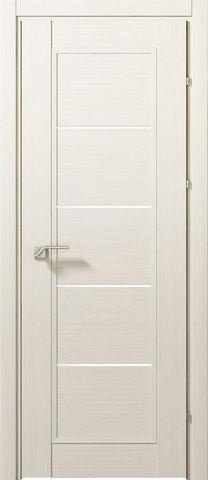 Дверь Краснодеревщик 3352, цвет беленый дуб, остекленная