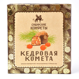 Конфеты Кедровая комета с земляникой Сибирский Кедр 120 гр.