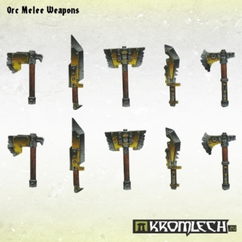 Orc Melee Weapons (10)