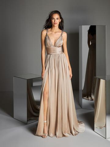 Вечернее платье классическое в стиле Ампир