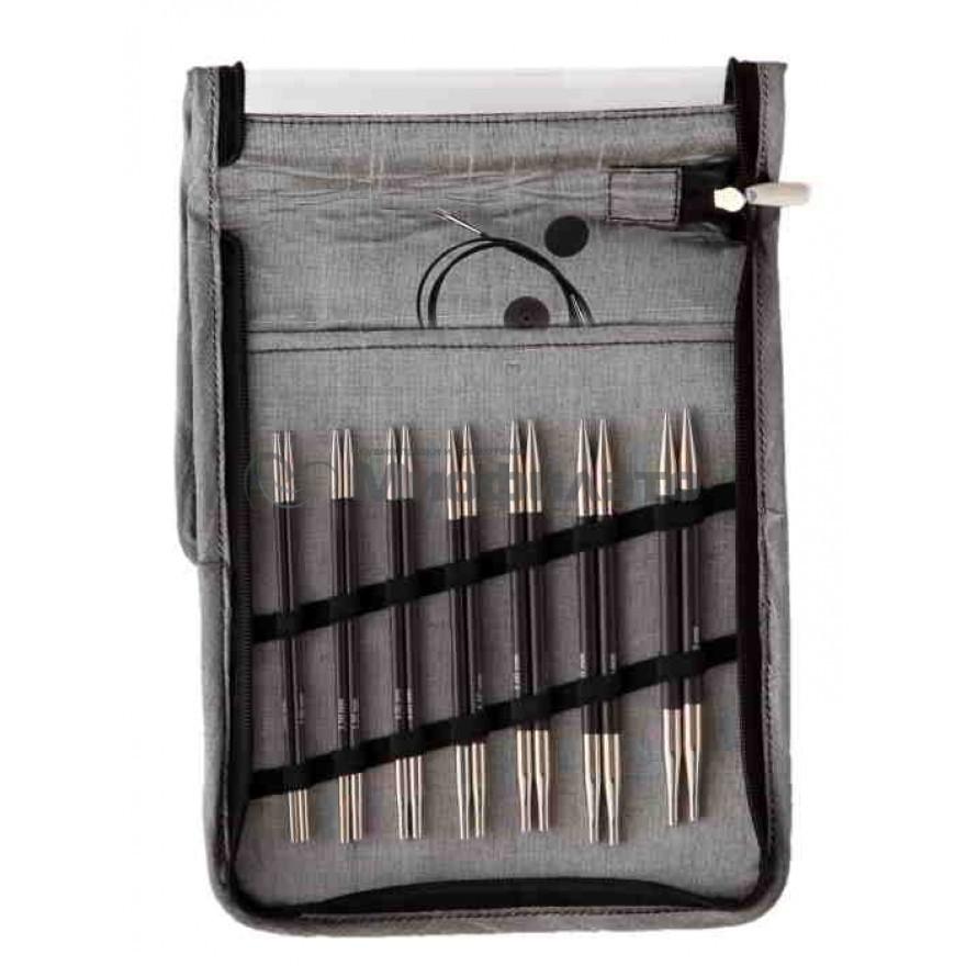 KnitPro Набор съемных спиц Karbonz Deluxe Set 41613