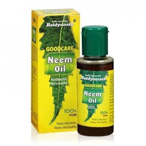 Масло нима Goodcare Neem Oil Baidyanath 50мл