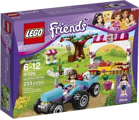 LEGO Friends: Сбор урожая 41026 — Sunshine Harvest — Лего Френдз Друзья Подружки