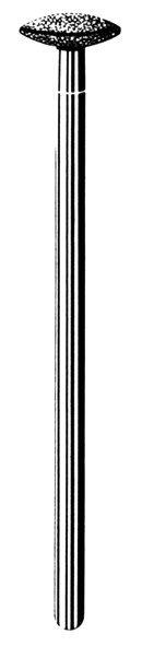 Лабораторные алмазные инструменты «SS WHITE» серия LAB 234/4080 Группа III. Средняя крошка.