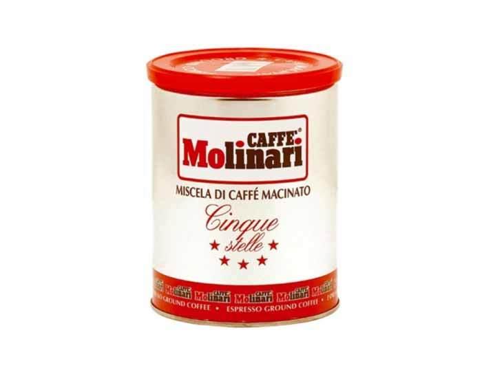 Кофе молотый Molinari 5 звезд, 250 г