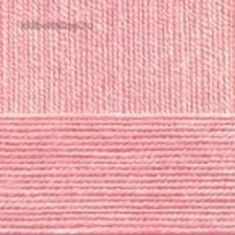 Бисерная 76 розовый бутон - пряжа Пехорка в интернет-магазине