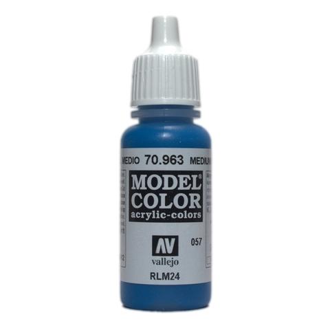 Model Color Medium Blue 17 ml.