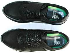 Кроссовки снікерси чоловічи Luciano Bellini 1087 All Black