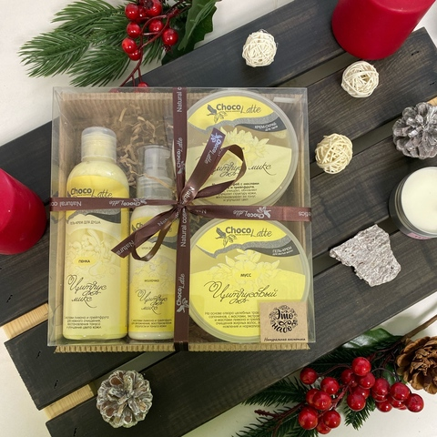 Набор подарочный большой Ванилла-Крим | Chocolatte