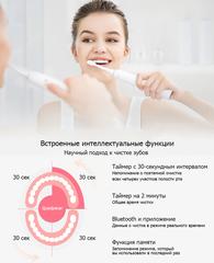 Электрическая зубная щетка Xiaomi Soocas X3U Sonic Electric Toothbrush White (Белая)