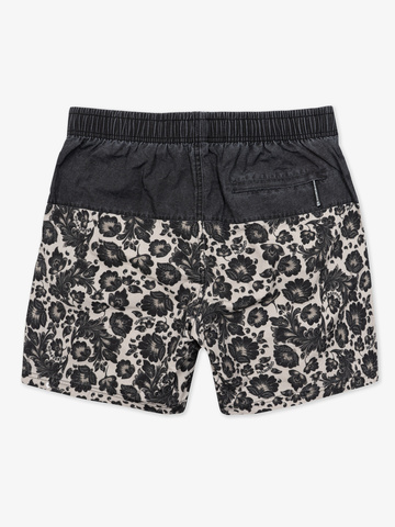 "Swim shorts ""Dark grey khokhloma"""