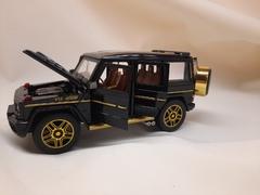 Металлическая Машина  Mercedes-Benz G-class черная