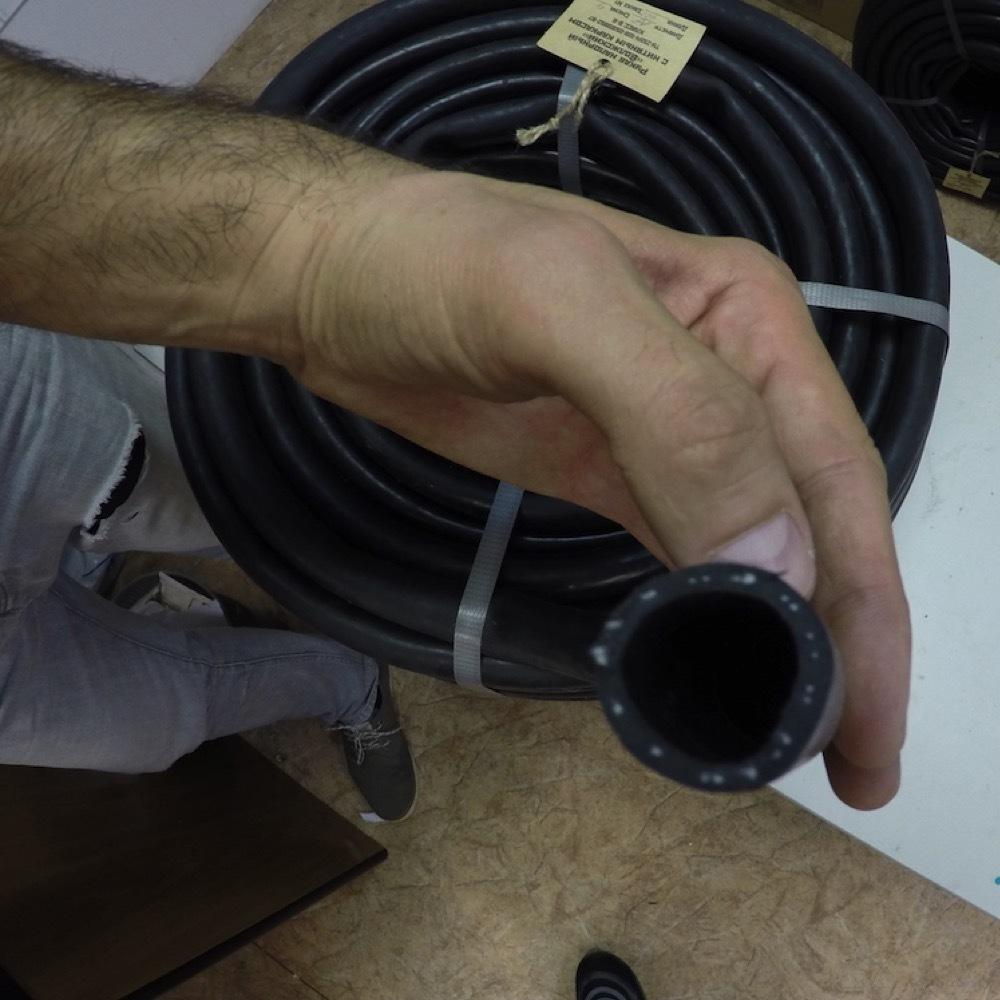 Шланг поливочный резиновый кордовый рукав 12мм, 50м (г.Волжский)