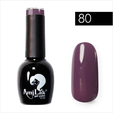 AmiLak Color Gel Polish №080