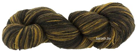 Пряжа Кауни  8/2  Brown-black (Черно-коричневый)