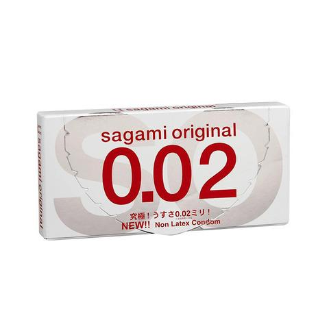 Sagami Original 0,02 №2 Презервативы полиуретановые