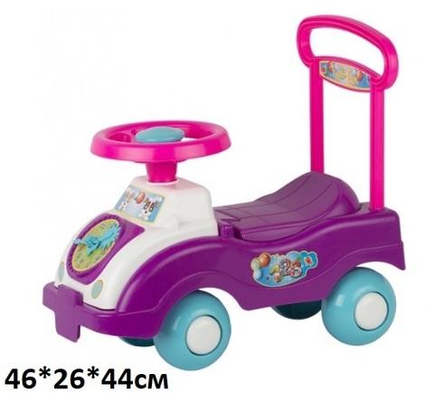 Автомобиль-каталка Тик-Так У897 для девочек (Уфа)