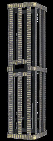 Сетка на трубу 250х250х1000 Гефест ЗК 18/25/30 под шибер