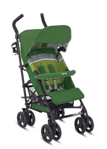Комплект текстиля (капюшон, сиденье, накладки на ремни) на коляску Inglesina Trip, цвет Green (зеленый)