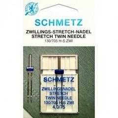 Фото: Игла Twin stretch 130/705 H-S ZWI SMS №1-4,0/75