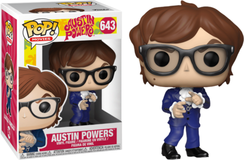 Фигурка Funko Pop! Movies: Austin Powers - Austin Powers