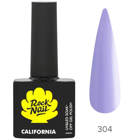 Гель-лак RockNail 304 Ultra Violet 10мл