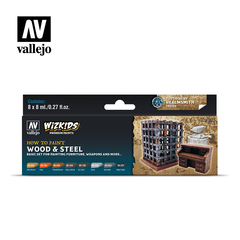 Wizkids premium set by vallejo: wood & steel