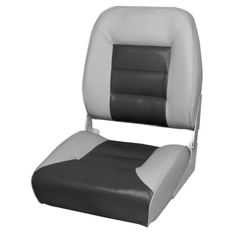Кресло Premium High Back Boat Seat - Серый/Графит