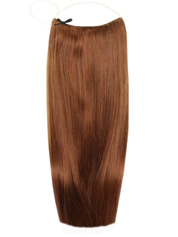 Волосы на леске Flip in- цвет #6-натуральный русый
