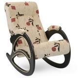 Кресло-качалка Модель 4 ткань с лозой