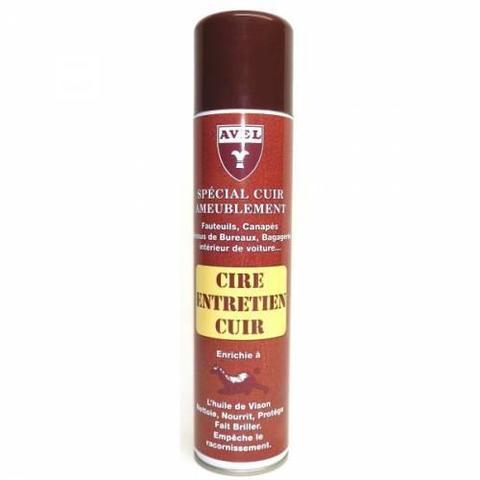 Специальный воск для мебельной кожи CIRE ENTRETIEN CUIR, 400мл. (neutral), Saphir
