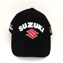 Кепка с вышитым логотипом Сузуки (Кепка Suzuki) черная