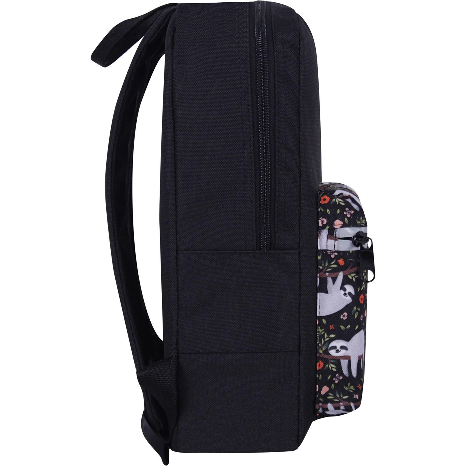 Рюкзак Bagland Молодежный mini 8 л. черный 752 (0050866) фото 2