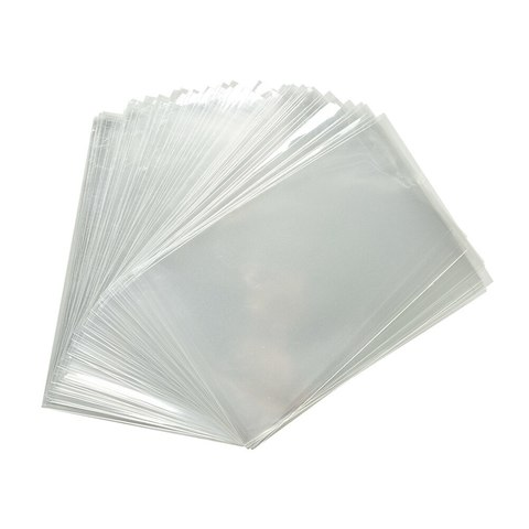 Пакет 15*20см прозрачный, 50шт