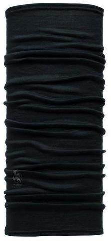 Шарф-труба шерстяной Buff Black фото 1