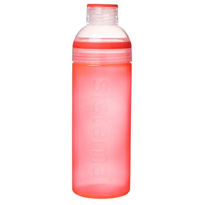 """Бутылка для воды Sistema """"Hydrate"""" 700 мл, цвет Красный"""