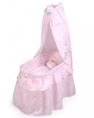 DeCuevas Кроватка с балдахином для куклы серии Фантазия океана, 60см (51041)