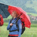 Зонт Euroschirm Birdepal Outdoor Red