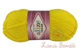 Пряжа Alize Cotton Gold лимонный 110
