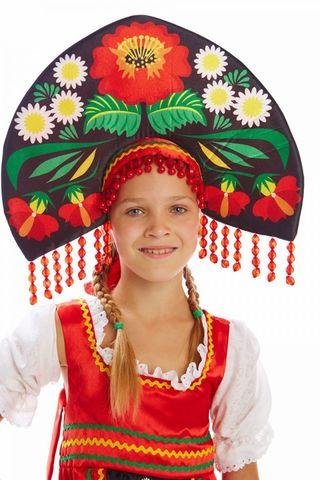 Русский народный костюм Хохлома девочка 2
