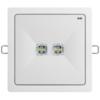 Светильники аварийного освещения высоких помещений ONTEC R F2 с рамкой – вид спереди
