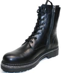 Зимние кожаные ботинки женские Vivo Antistres Lena 603