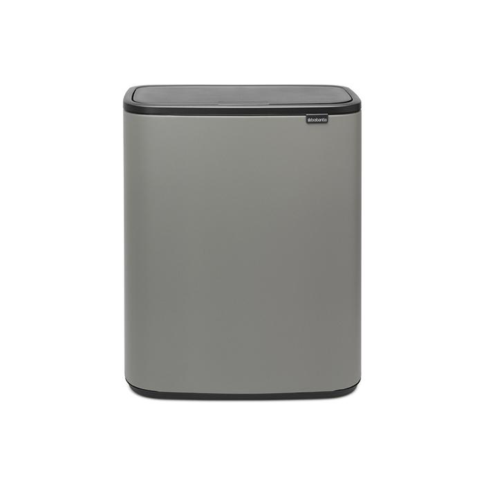 Мусорный бак Touch Bin Bo (60 л), Минерально-серый, арт. 223129 - фото 1