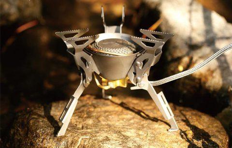 Картинка горелка туристическая Fire-Maple King Kong FMS-100T титановая  - 2