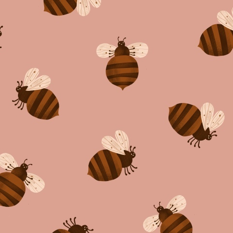 Пчелки любят мед