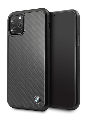BMW / чехол для iPhone 11 Pro | Signature Real Carbon Hard Black