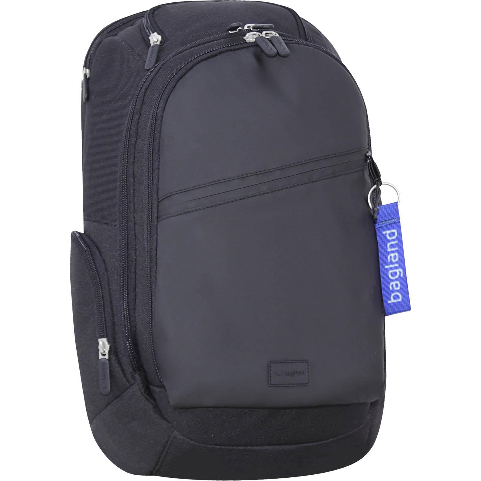 Рюкзаки для ноутбука Рюкзак для ноутбука Bagland Tibo 23 л. Чёрный/кожзам (0019066) IMG_7534-1600.jpg